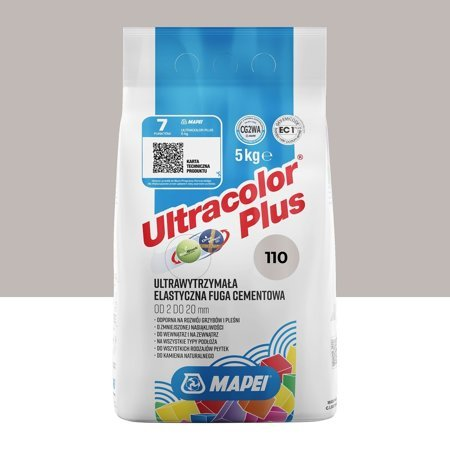 FUGA ELASTYCZNA MAPEI ULTRACOLOR PLUS 110 5KG MANHATTAN